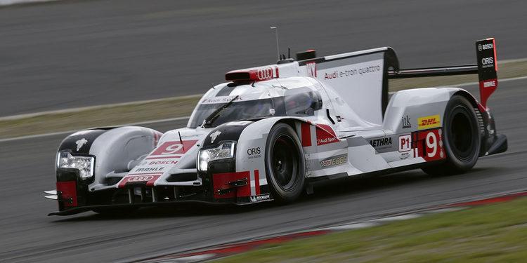 Audi llega a Nurburgring como líder de la tabla
