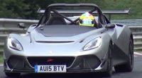 Lotus 3-Eleven de pruebas en Nürburgring