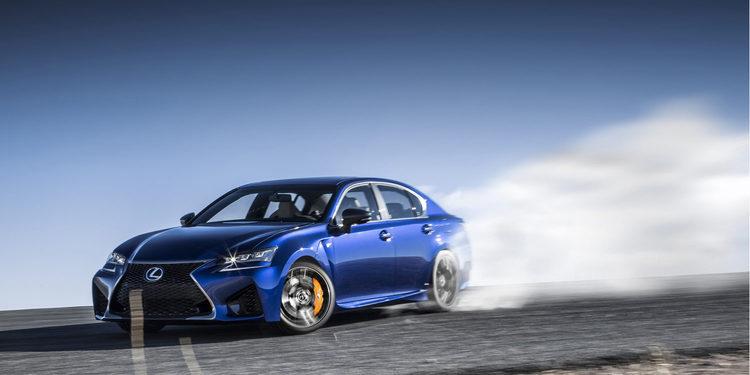 El espectacular Lexus GS F devora Fuji