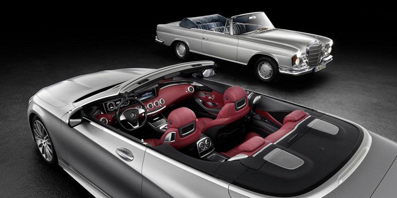 Desvelada la primera imagen del Mercedes Benz Clase S Cabrio