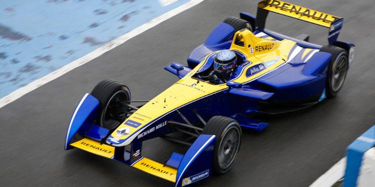 Prost, el más rápido del día en Fórmula E