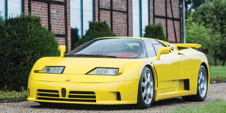 Chris Harris prueba el Bugatti EB 110 Supersport de 600 CV en vídeo