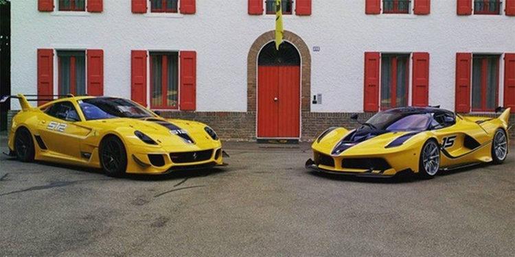 Entregan Ferrari FXX K al vicepresidente de Google, dueño de un 599XX amarillo