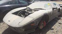 Aparece un Ford GT abandonado en Israel