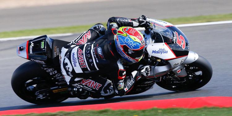 Cara y cruz para Zarco en los libres del viernes de Moto2