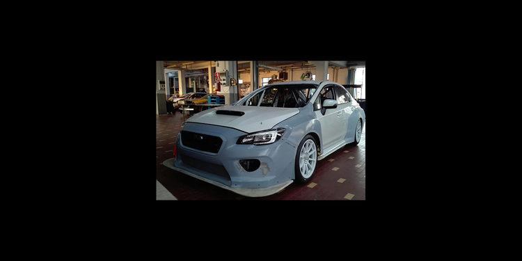El Subaru TCR de Top Run listo para rodar