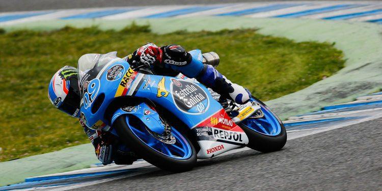 Jorge Navarro consigue su primera pole mundialista