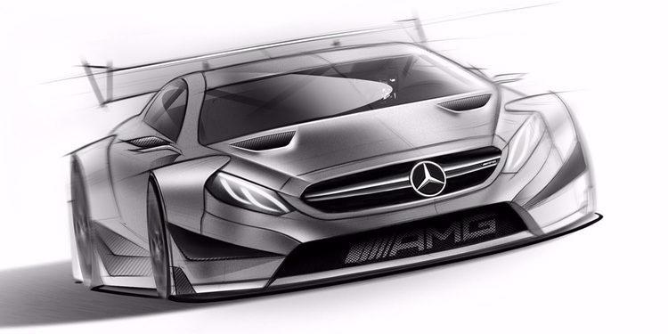 Mercedes muestra su visión del DTM 2016