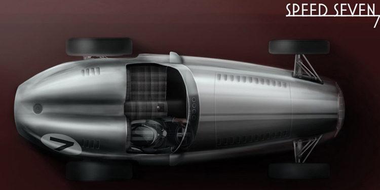 "El ""retro"" Speed 7 Sports Car de Kahn Design"