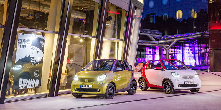 Smart presentará su nuevo Fortwo Cabrio en Frankfurt