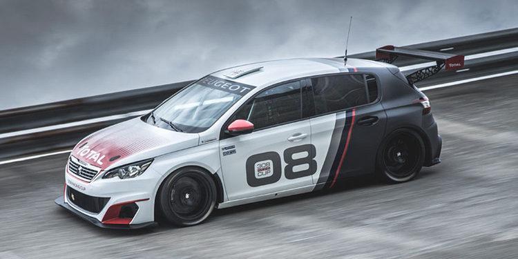 Vídeo: El Peugeot 308 Racing Cup rueda en Montlhèry