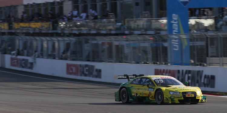 Rockenfeller, poleman del domingo en Moscow Raceway