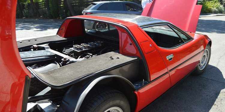 Maserati Bora 4.7 V8 1972, la cúspide de Maserati