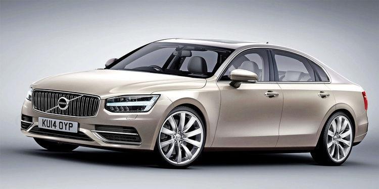 Se filtra, a escala, el diseño del nuevo Volvo S90