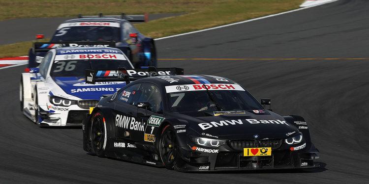 BMW muestra su mejor versión DTM en la pista del Moscow Raceway