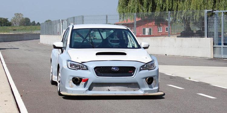 El Subaru para las TCR completa su primer test