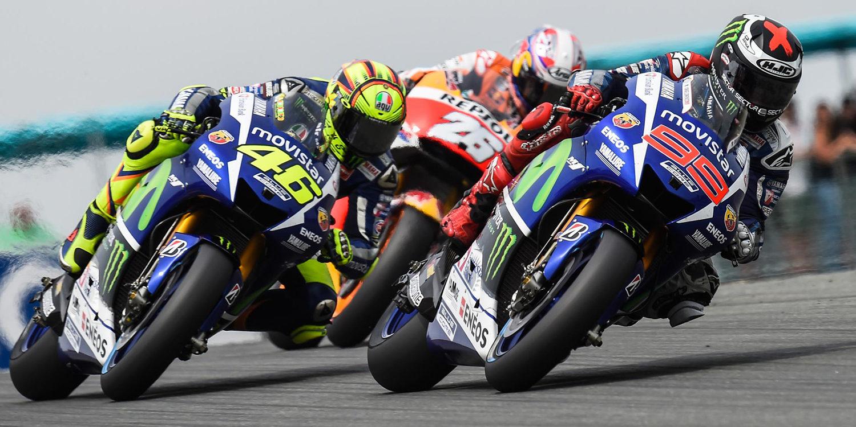 La lucha de MotoGP, entre Lorenzo y Rossi