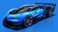 Se destapa el Bugatti Vision Gran Turismo Concept