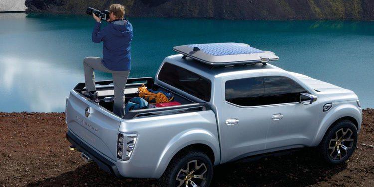 Renault estrena segmento con el Alaskan Concept