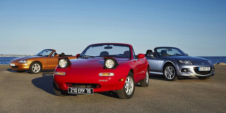 Mazda MX5. Las raíces puras del concepto Roadster