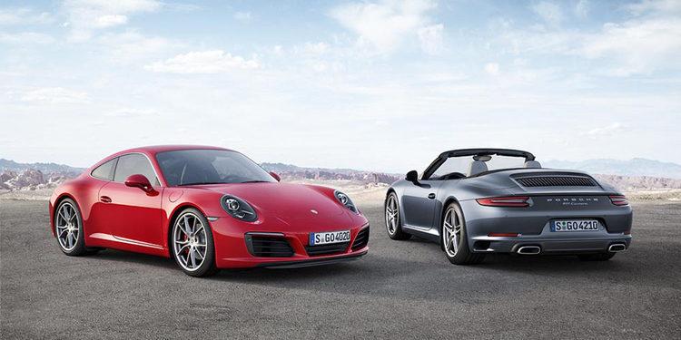 Porsche desvela su nuevo 911 Carrera antes de ir a Frankfurt