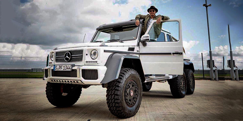 Lewis Hamilton busca coche nuevo, un Mercedes G63 6x6