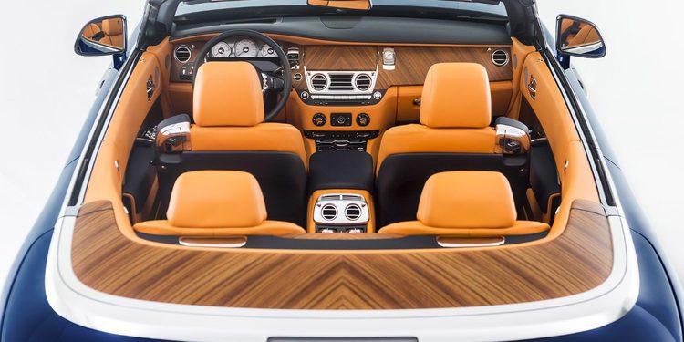 Presentación oficial del nuevo Rolls Royce Dawn
