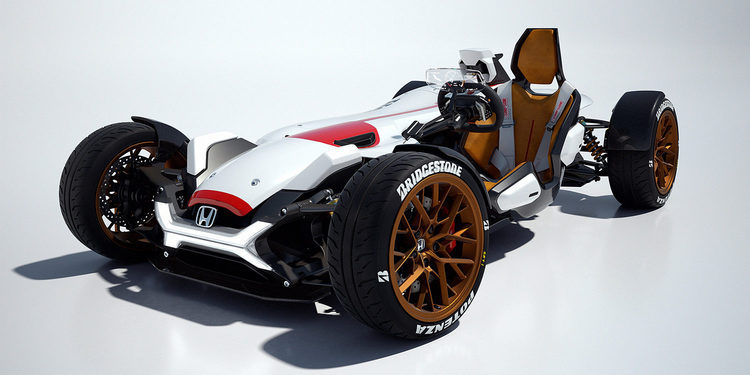 Honda desvela el Project 2&4 con motor de MotoGP