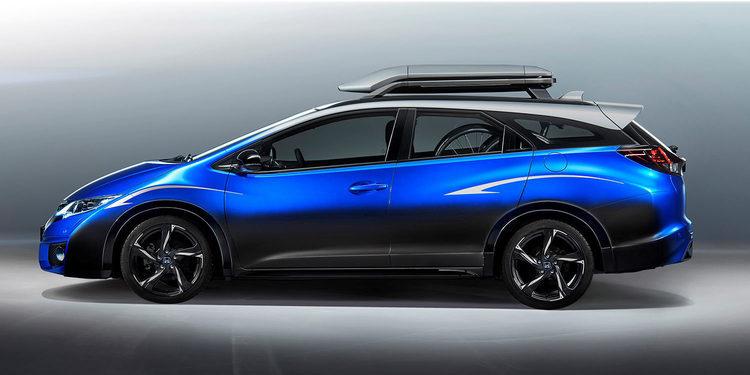 Honda Civic Tourer Life Active Concept. Para deportistas
