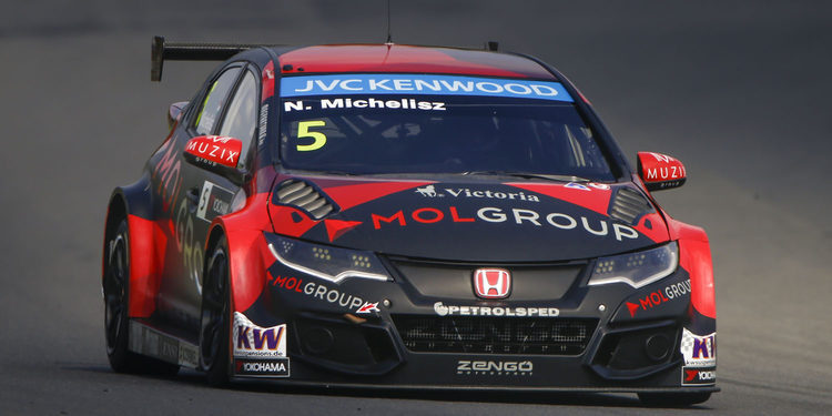 Norbert Michelisz logra la pole en Motegi