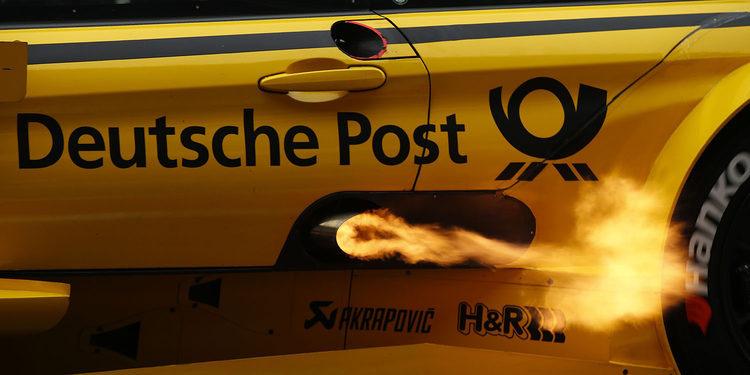 Timo Glock gana la carrera de los incidentes en el DTM