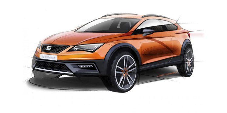 Nuevo Seat León Cross Sport concept para Frankfurt 2015