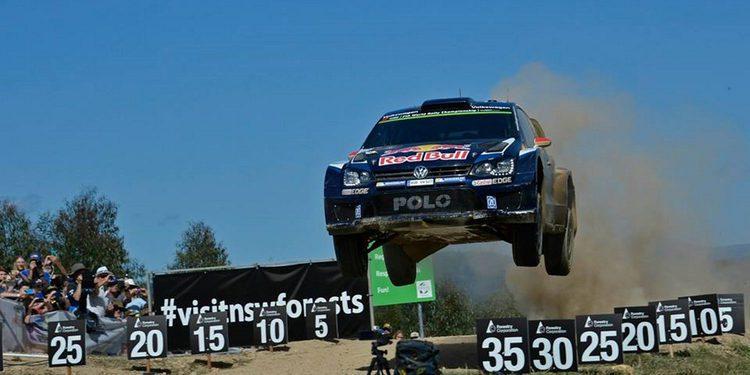 Ogier, tres veces Campeón del Mundo de Rallys