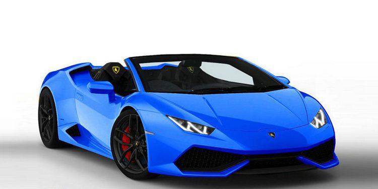 Lamborghini podría presentar el Huracán Roadster en el Salón de Ginebra 2016