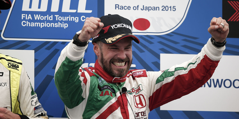 Tiago Monteiro lleva a Honda a la victoria en Japón