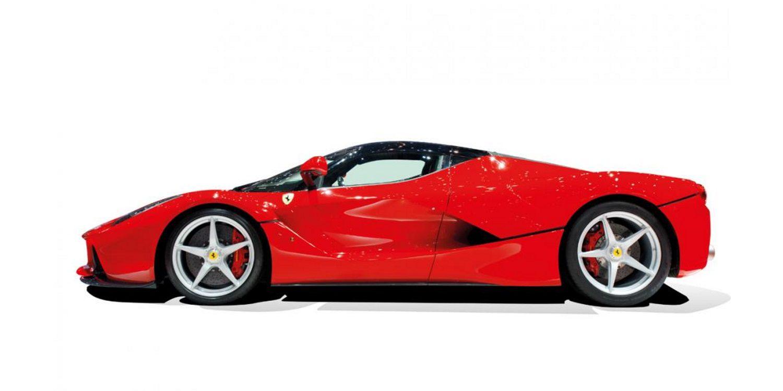¿Es este el Ferrari LaFerrari de Lewis Hamilton?