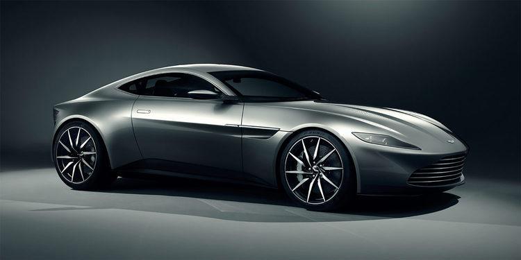 El Aston Martin DB10 de 007 y su particular drifting