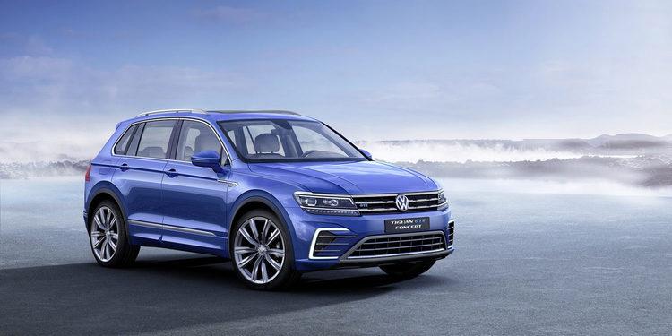 Volkswagen presenta el Tiguan GTE en Frankfurt