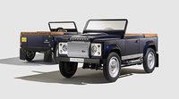 Land Rover presenta el Defender Pedal Car