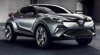 Toyota C-HR. El Concept se civiliza para Frankfurt