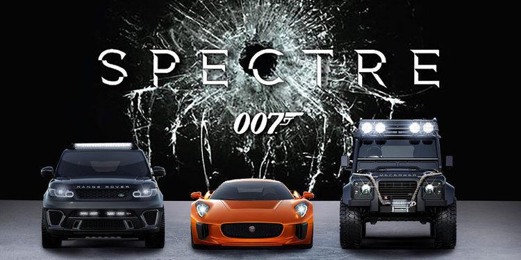Solo para sus ojos. Los coches de 007-Spectre en Frankfurt
