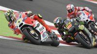 Andrea Iannone se lesiona pero estará en Aragón