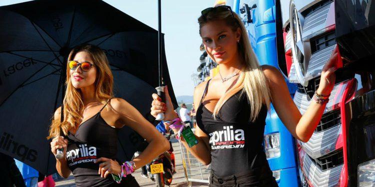 Paddock Girls del GP de San Marino 2015