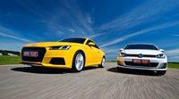 Vídeo: Volkswagen Golf GTI frente al Audi TT coupé