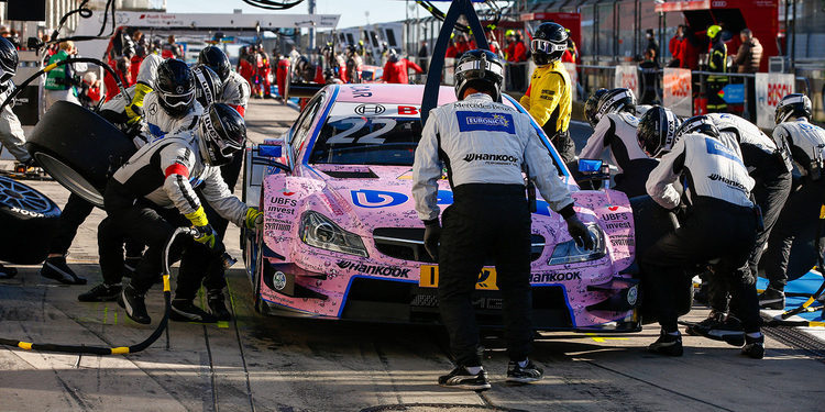 Lucas Auer consigue su primera pole en el DTM