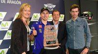 Jorge Lorenzo diseña el trofeo del GP aragonés