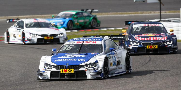 BMW sale muy reforzada de Nürburgring