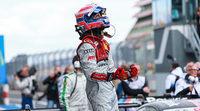 Audi celebra la victoria de Miguel Molina en Nürburgring