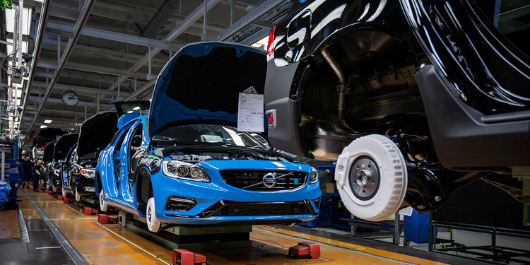 El siguiente Volvo S60 será fabricado en EEUU