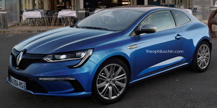 ¿Podría ser así el nuevo Renault Megane Coupé?